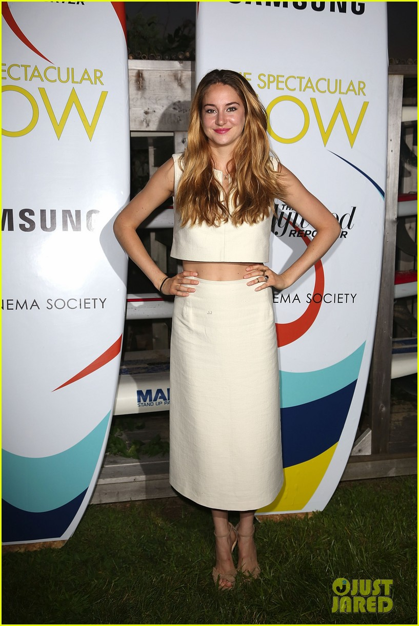 shailene woodley miles teller spectacular now hamptons screening 01
