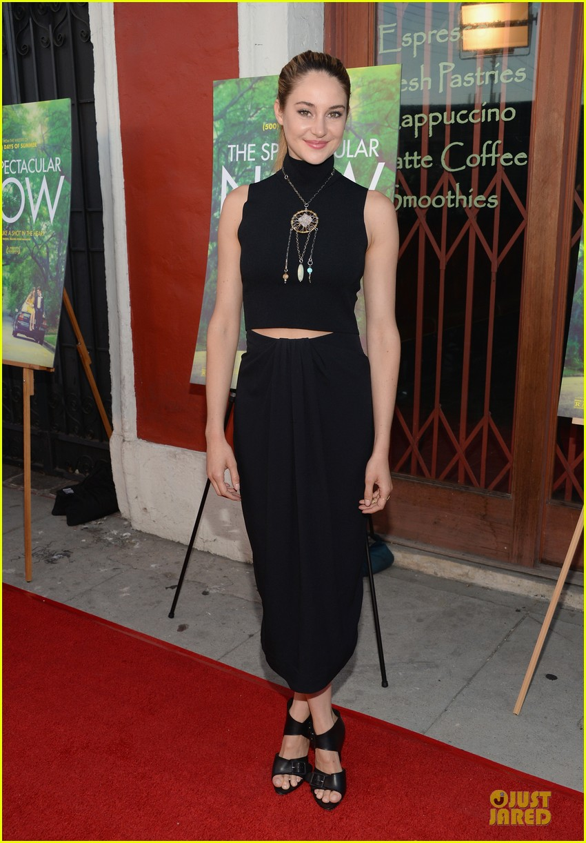 shailene woodley miles teller spectacular now la screening 11