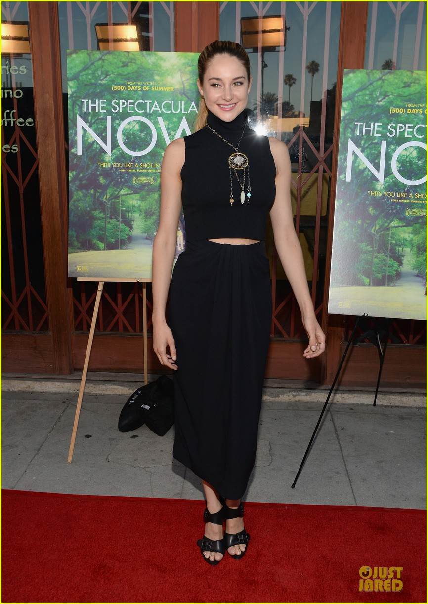 shailene woodley miles teller spectacular now la screening 13