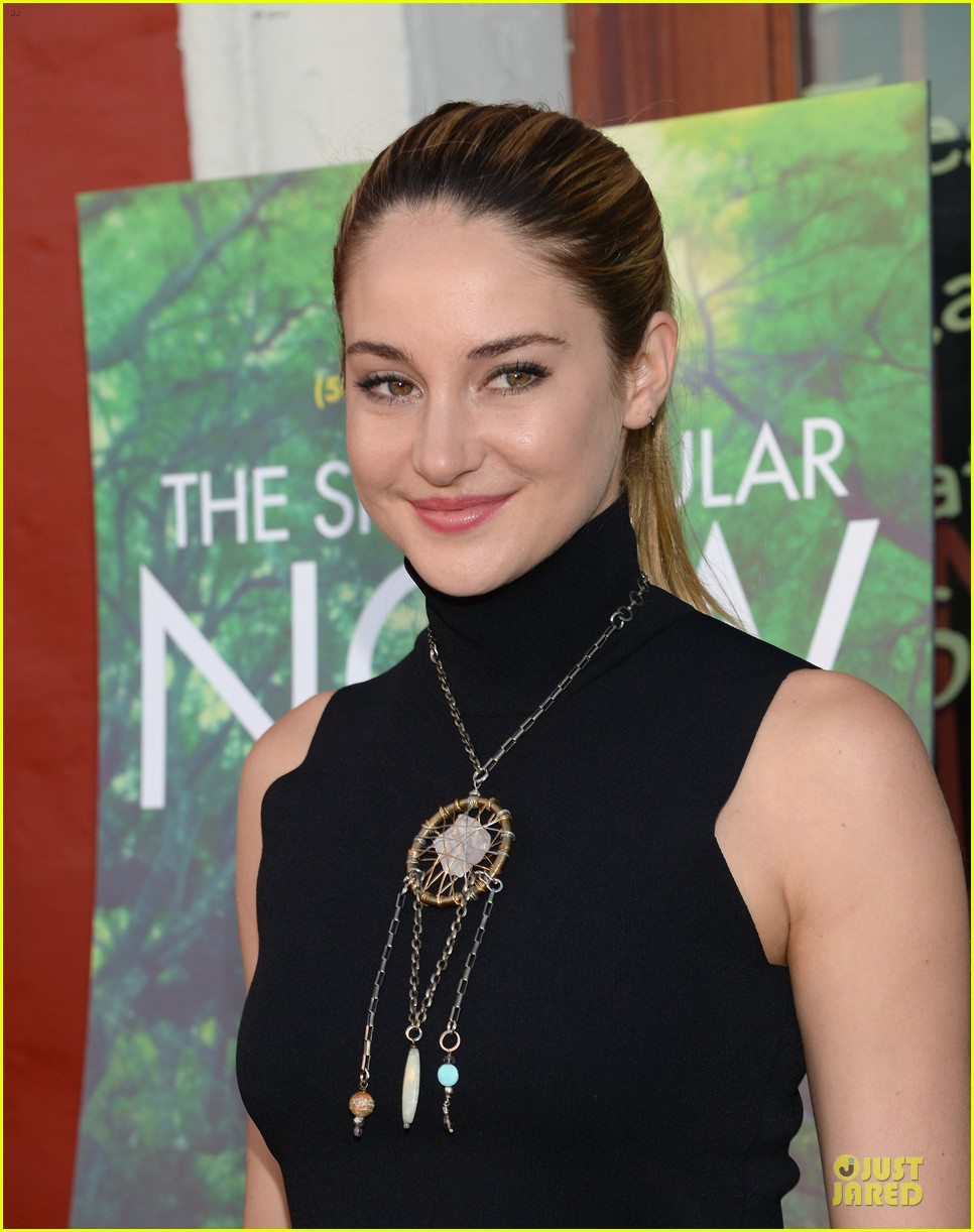shailene woodley miles teller spectacular now la screening 17