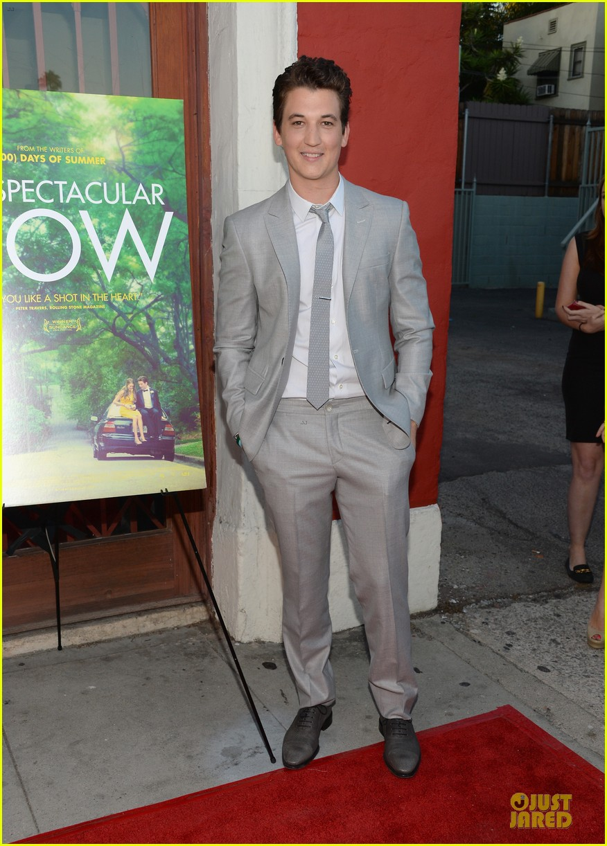 shailene woodley miles teller spectacular now la screening 232920638