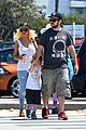 christina aguilera hits the beach with jordan bratman max 10
