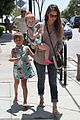 jessica alba honor haven wear matching outfits 15