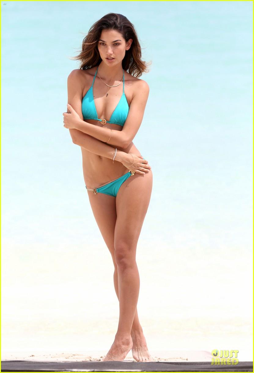 lily aldridge sexy bikini babe in st barts 292930314