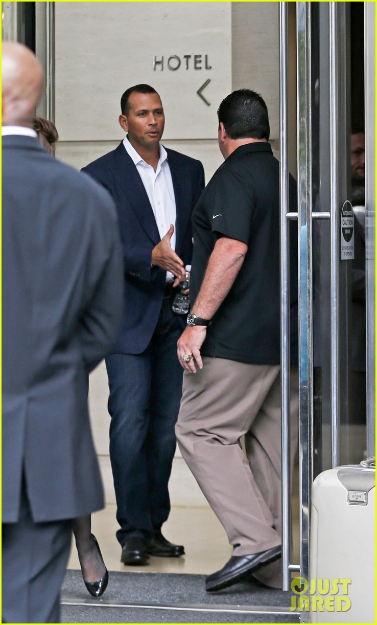 alex rodriguez steps out after record mlb suspension 02