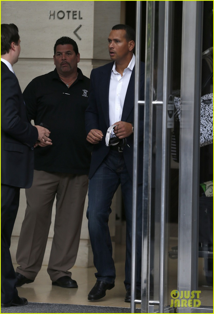 alex rodriguez steps out after record mlb suspension 09