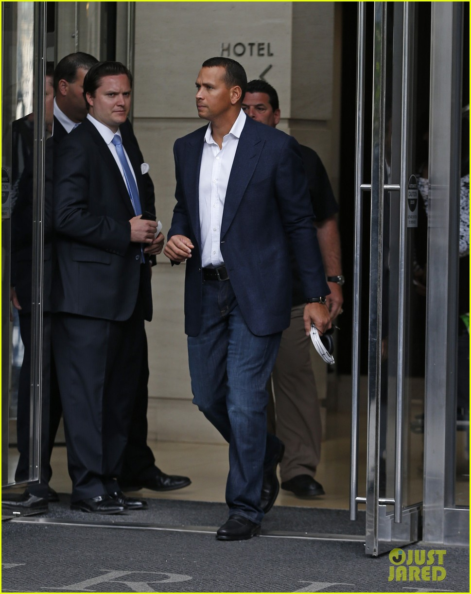 alex rodriguez steps out after record mlb suspension 132924163