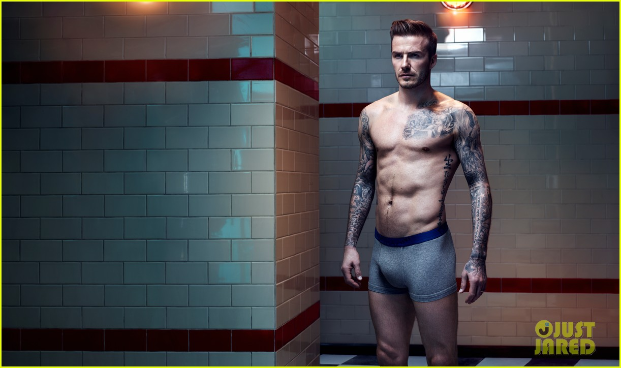 david beckham shirtless hm campaign pictures 032934854