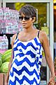 halle berry shows off large baby bump at bristol farms 04