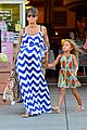 halle berry shows off large baby bump at bristol farms 15