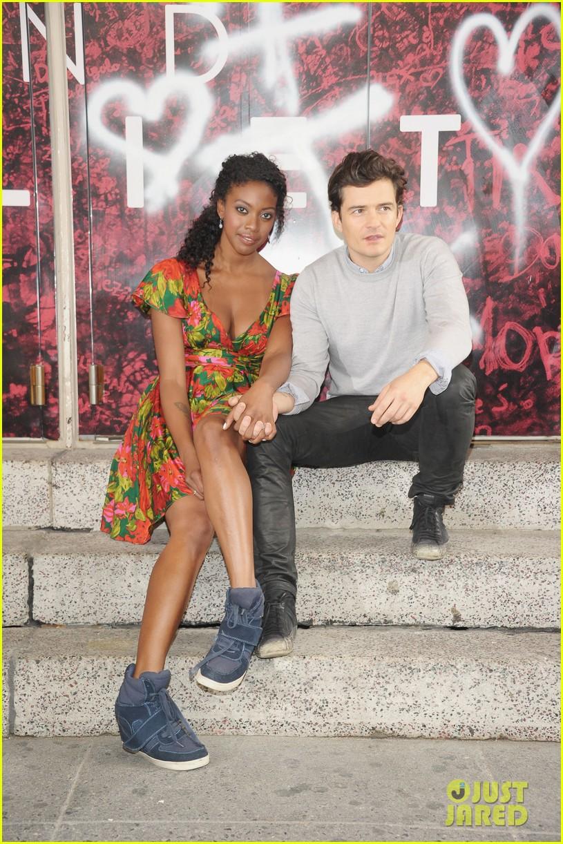Orlando Bloom: 'Romeo & Juliet' Photo Call with Condola ...
