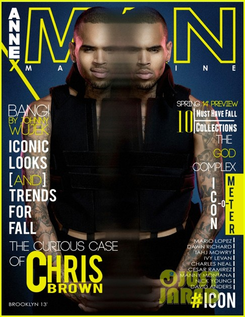 chris brown covers annex man magazine 022934047