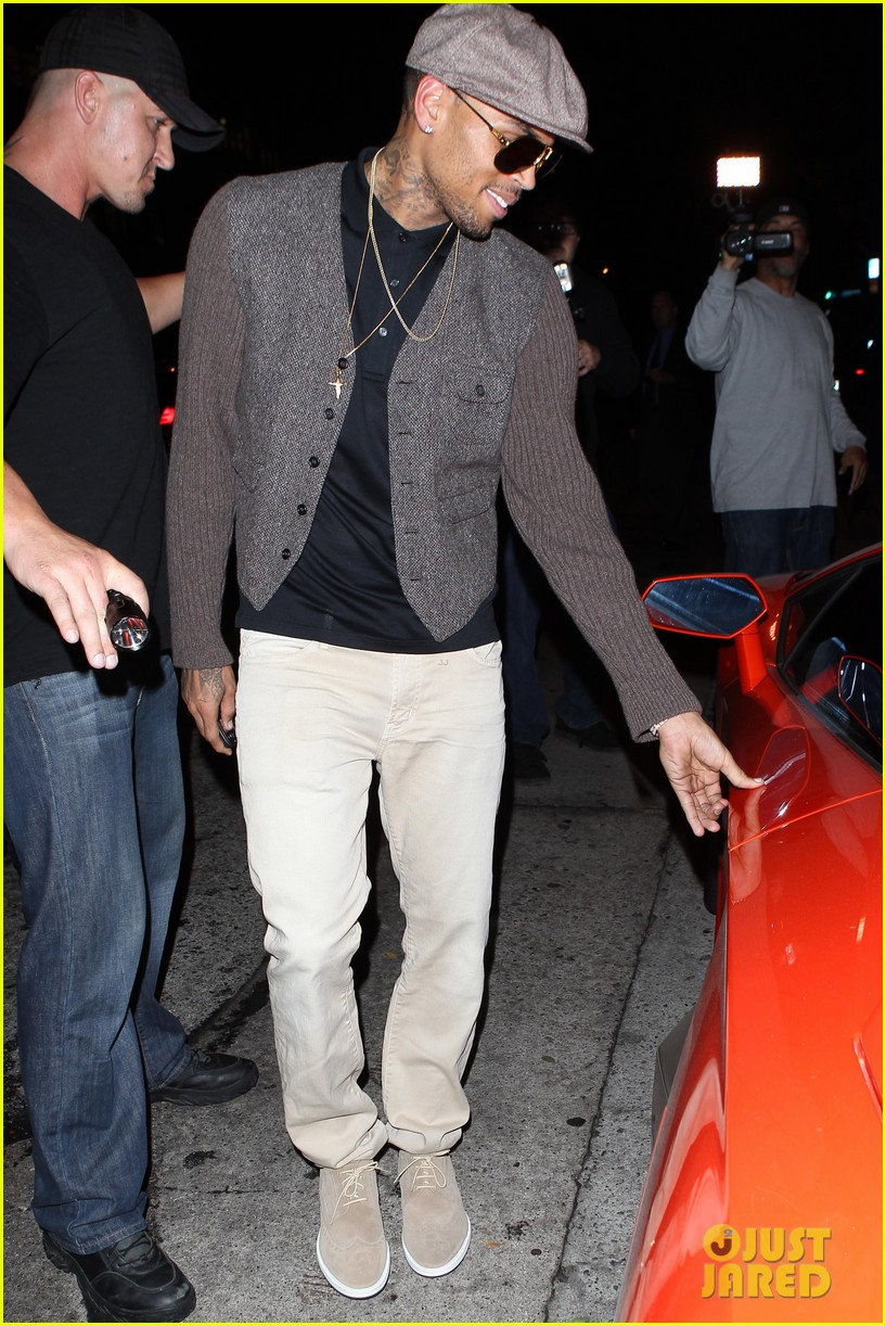 chris brown celebrates after hit run case dismissal 13