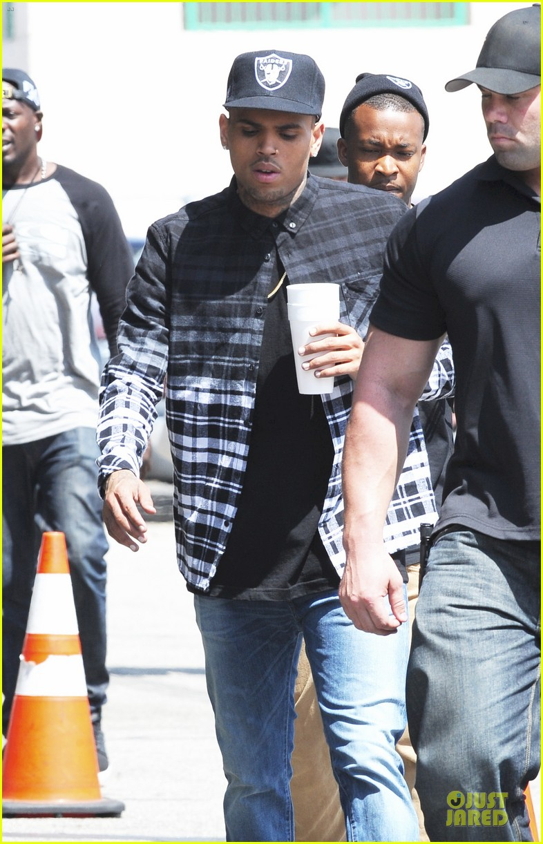 chris brown shoots love more music video 24