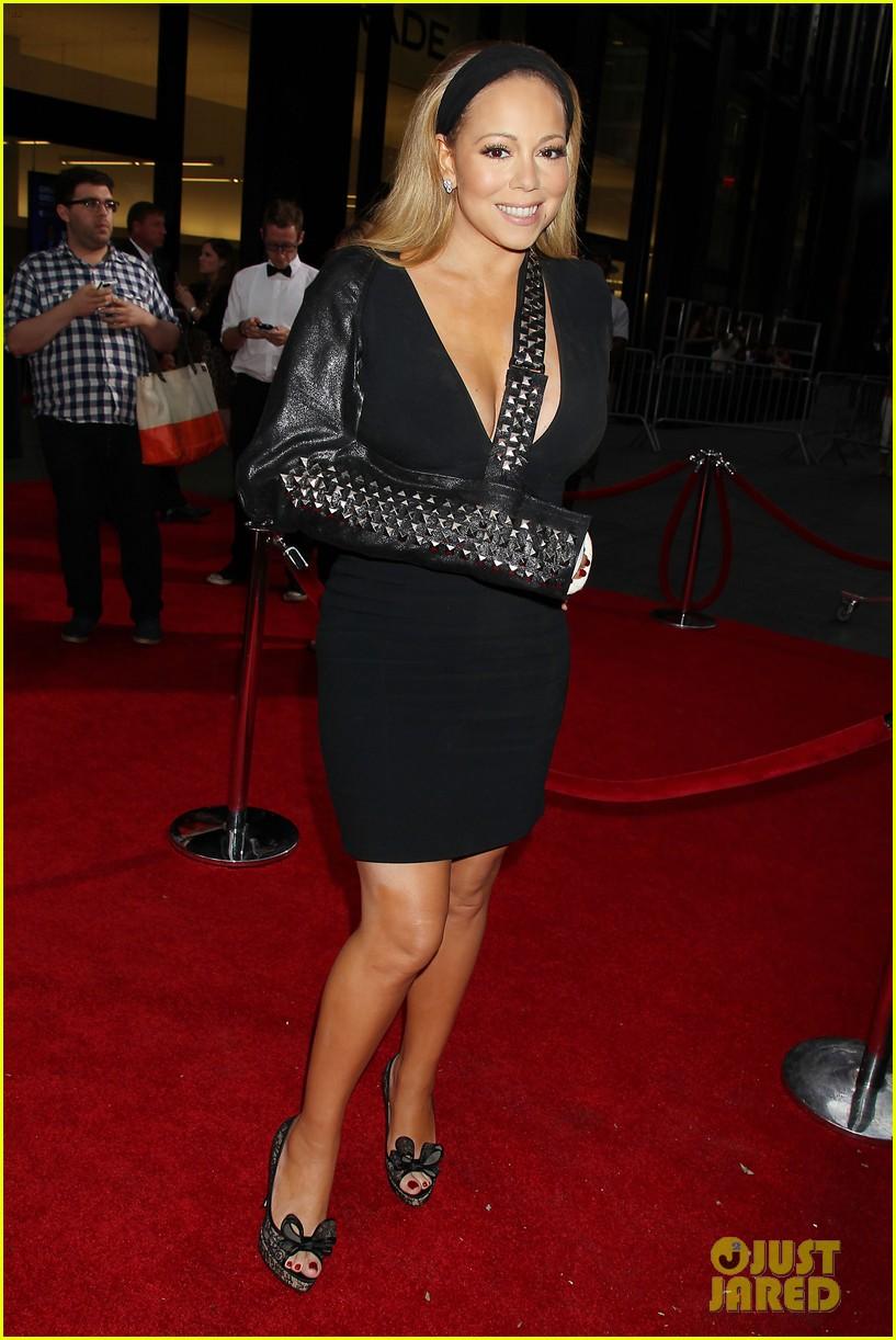 mariah carey wears arm sling to butler new york premiere 01