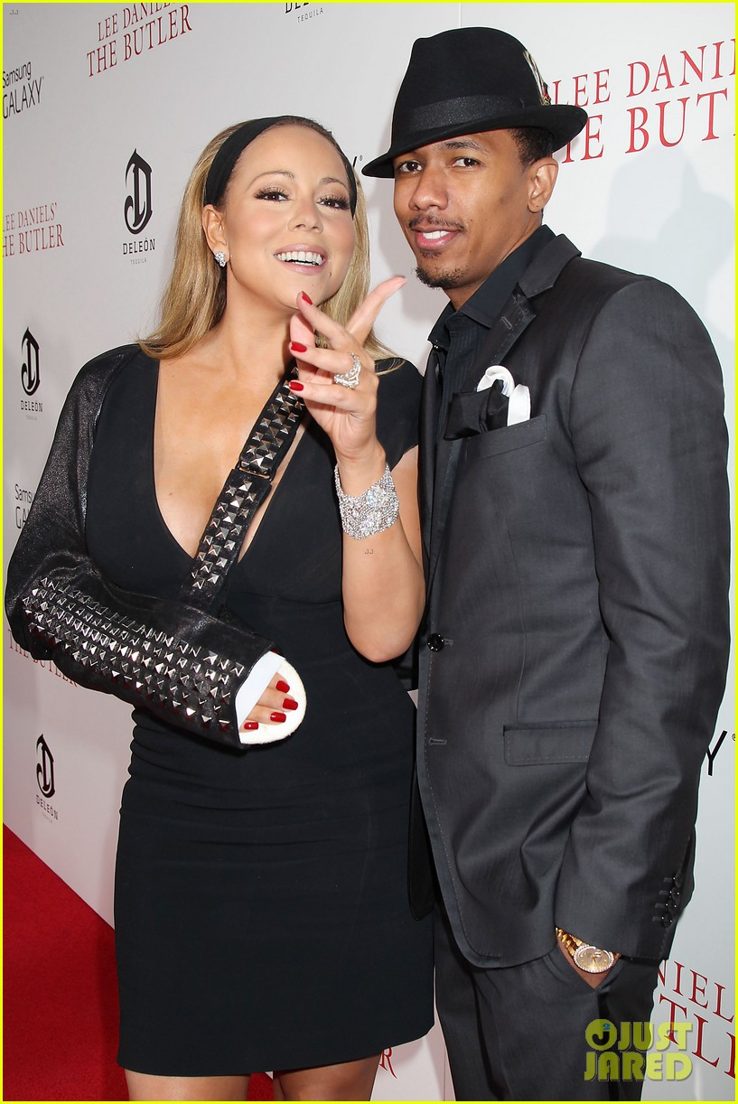 mariah carey wears arm sling to butler new york premiere 13