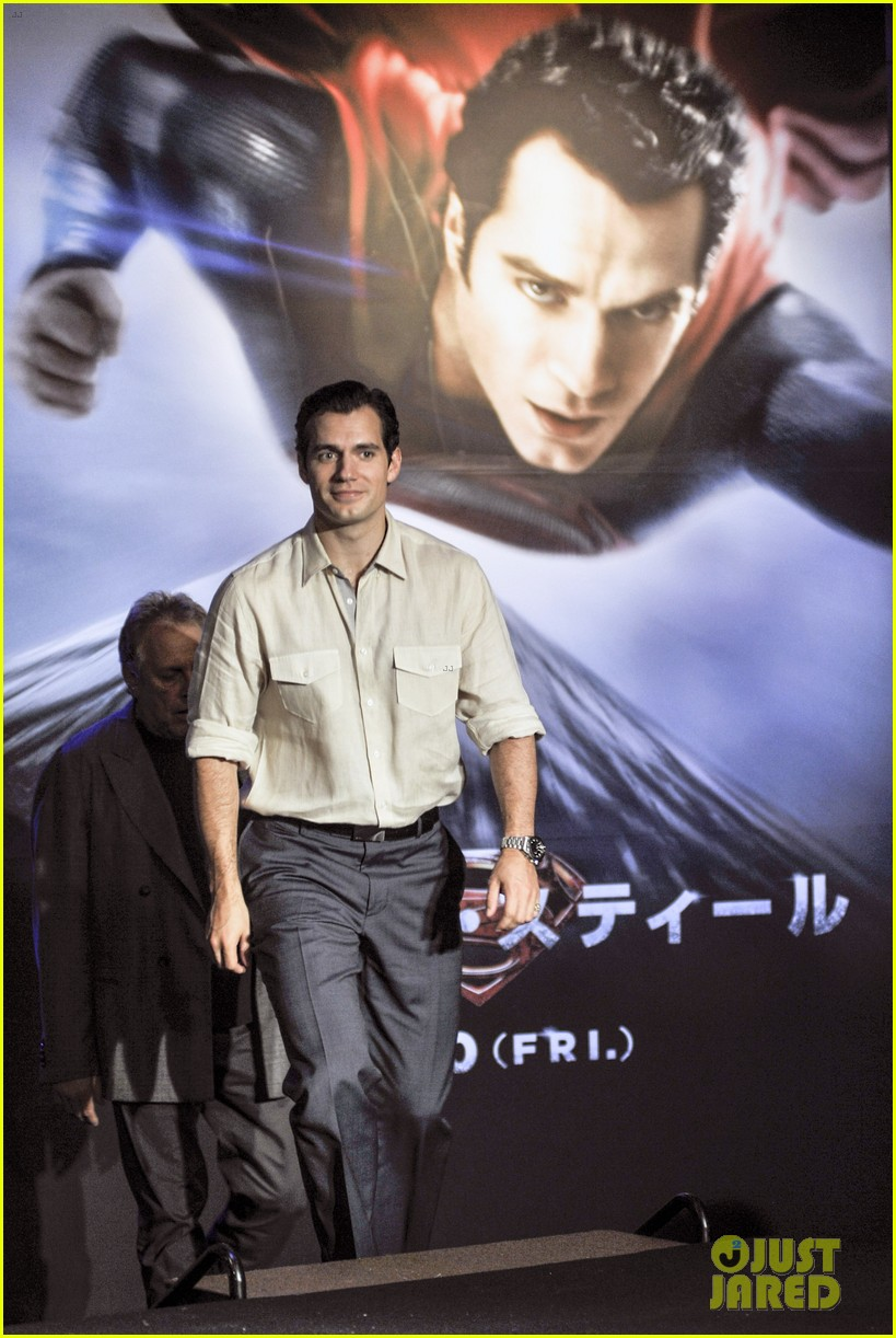 henry cavill man of steel japan press conference 022935221