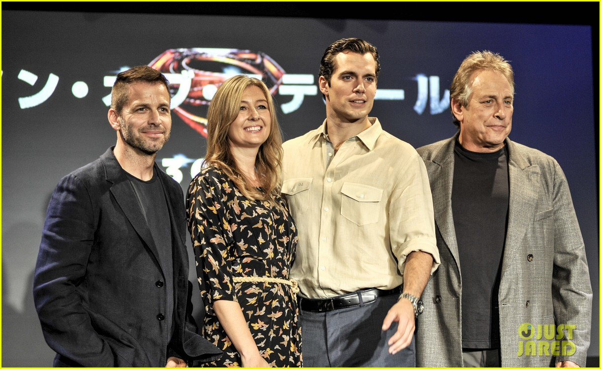 henry cavill man of steel japan press conference 03