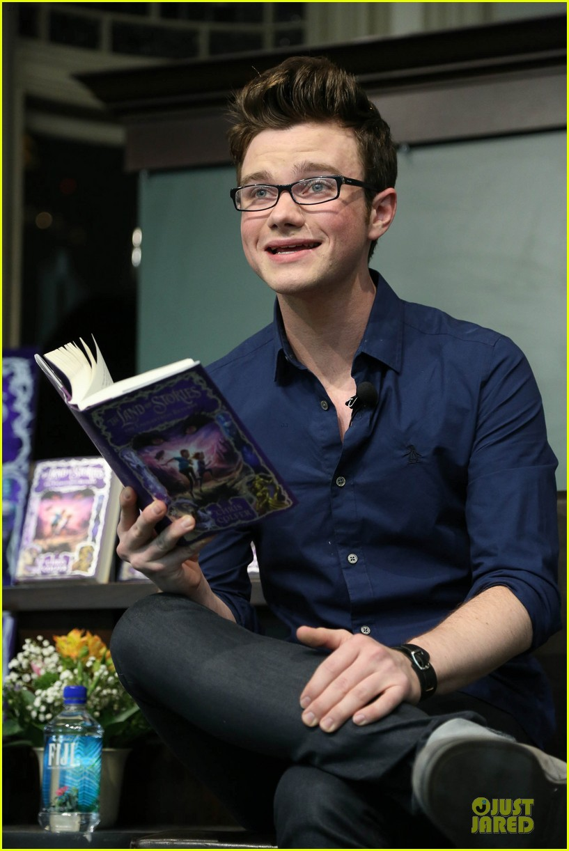 chris colfer land of stories the enchantress returns book event 152924687