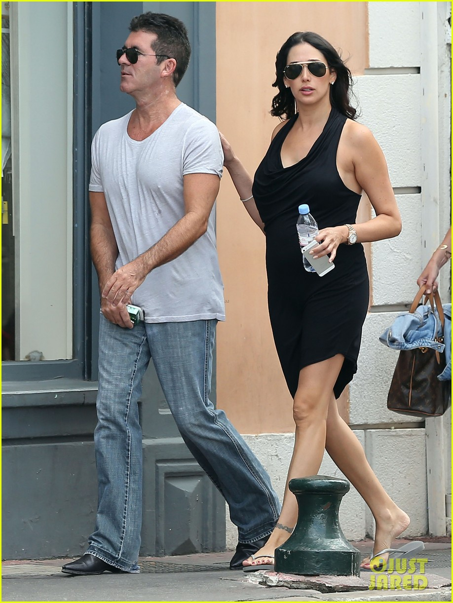 simon cowell lauren silverman hold hands in st tropez 032938275