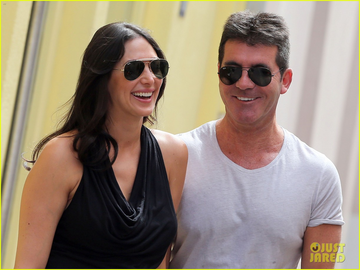 simon cowell lauren silverman hold hands in st tropez 062938278