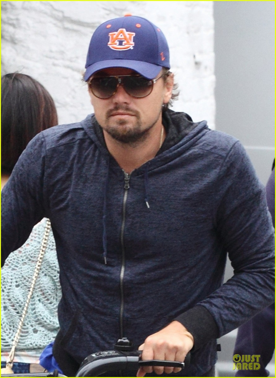 leonardo dicaprio low key china town bike ride 042933747