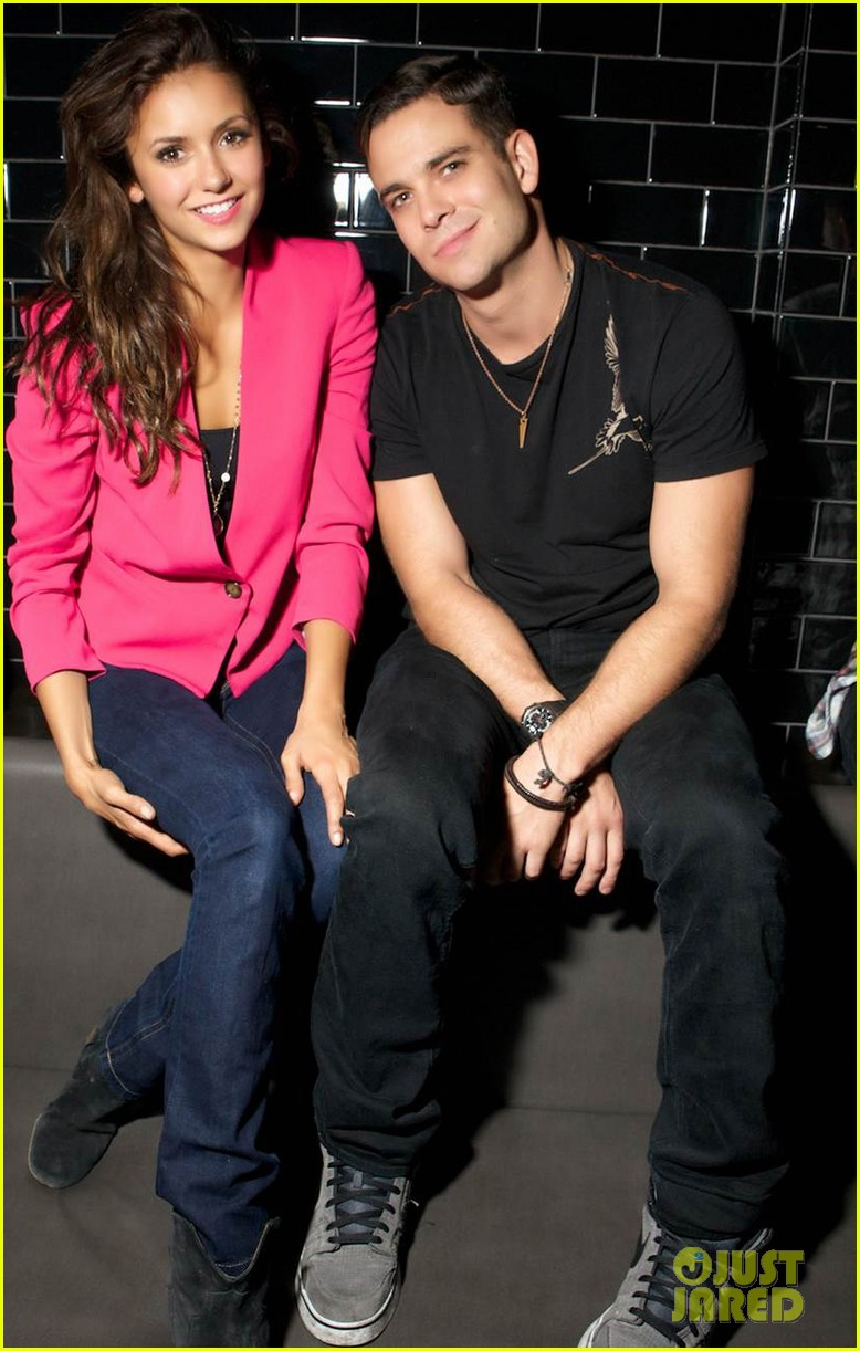 nina dobrev mark salling party 01