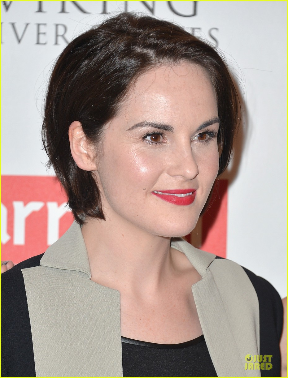 michelle dockery downton abbey season 4 photo call 182925194