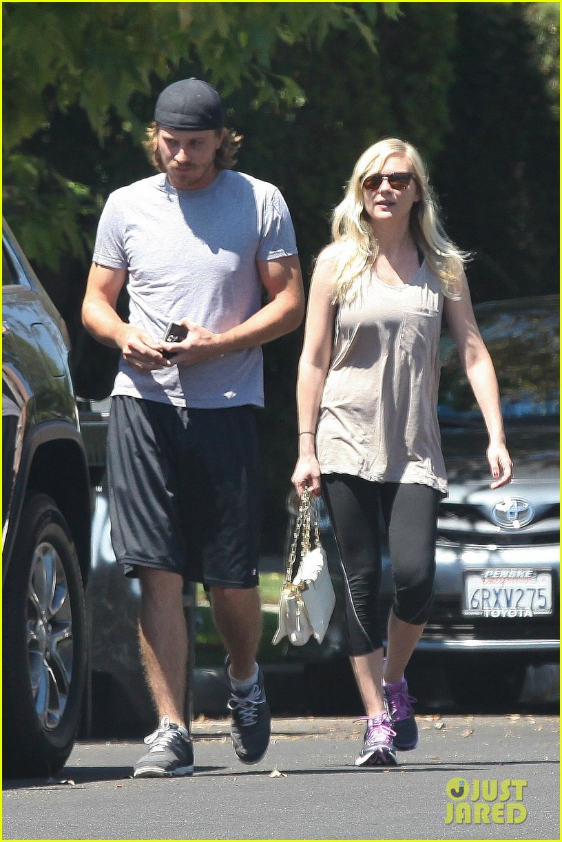 kirsten dunst garrett hedlund workout wednesday 03