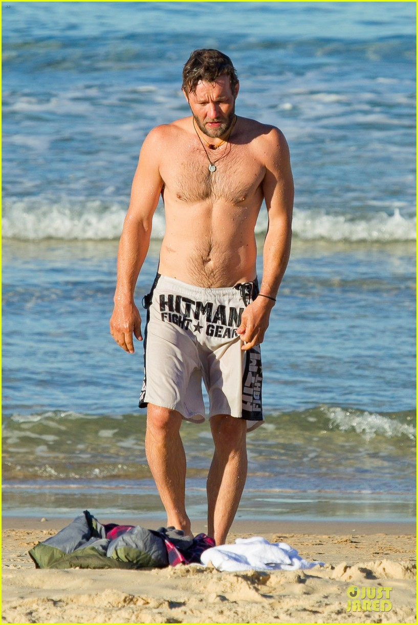 joel edgerton shirtless hitman after exodus news 112929833