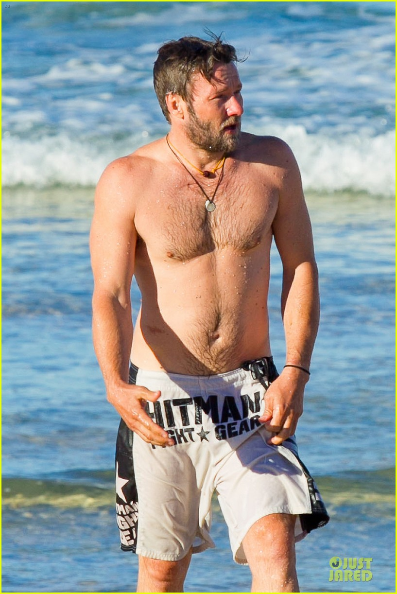 joel edgerton shirtless hitman after exodus news 13