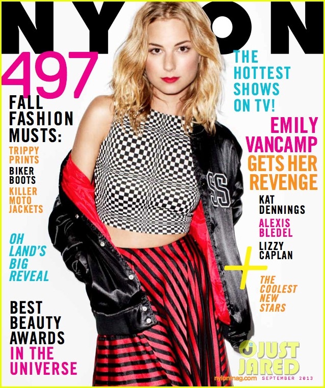 emily vancamp covers nylon september 2013 06