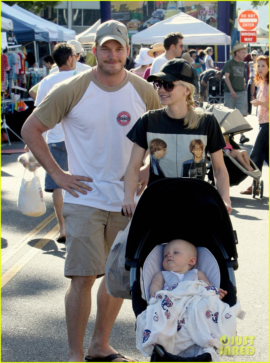 anna faris chris pratt celebrate son jack first birthday 062938422
