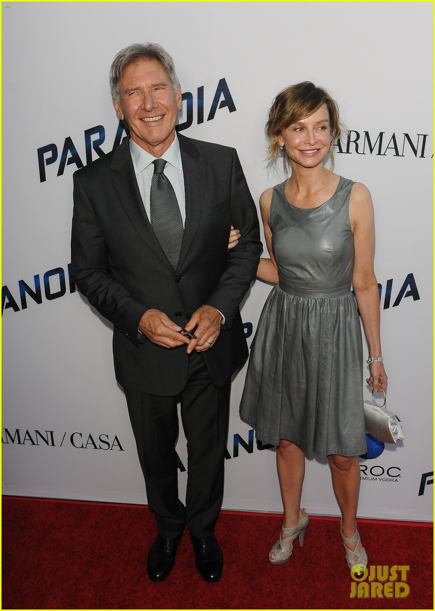 harrison ford paranoia premiere with calista flockhart 01