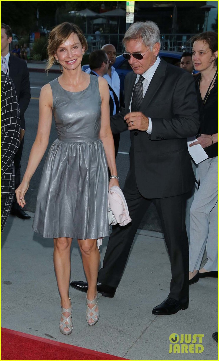 harrison ford paranoia premiere with calista flockhart 07