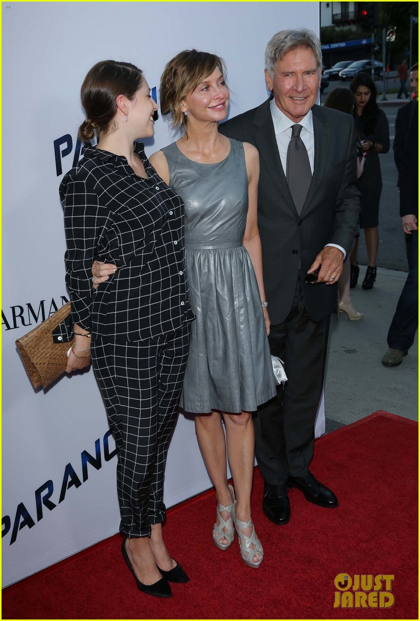 harrison ford paranoia premiere with calista flockhart 09