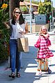 jennifer garner seraphina ballet pickup after lunch with violet 07