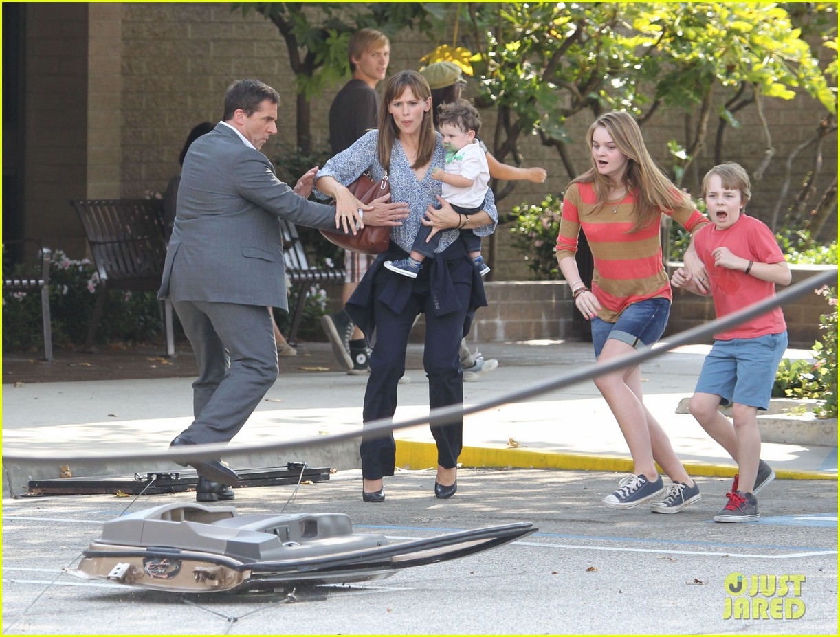 jennifer garner steve carell family freakout for alexander 14
