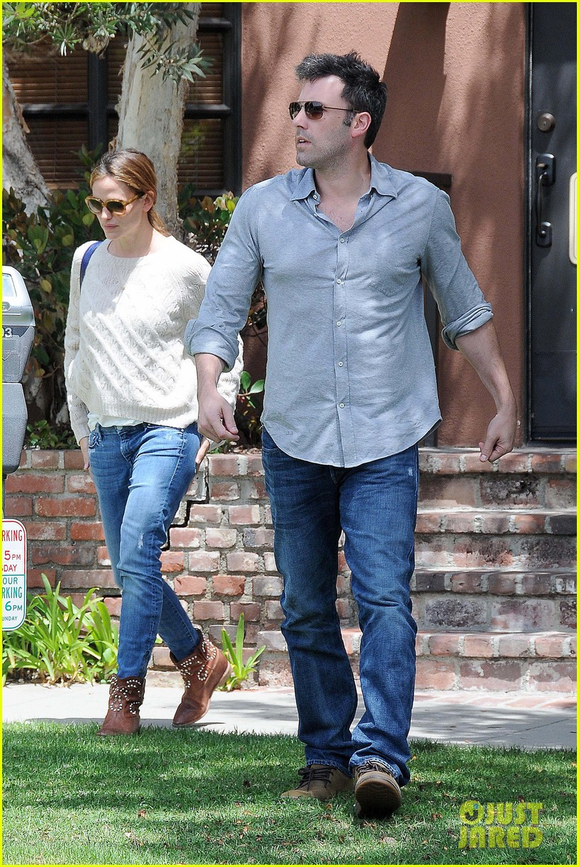 jennifer garner ben affleck share romantic weekend lunch 032932290