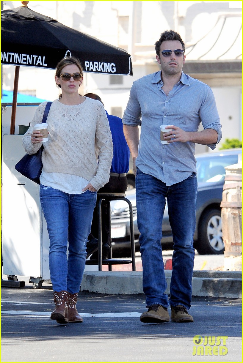 jennifer garner ben affleck share romantic weekend lunch 14