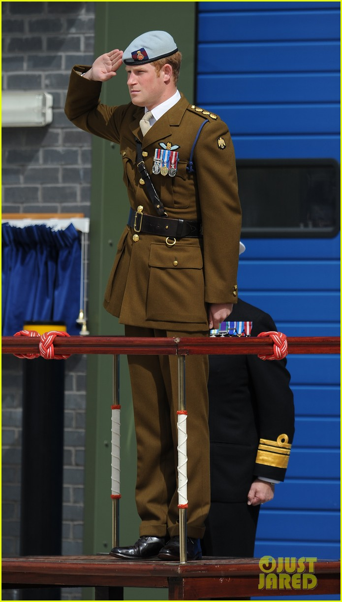 prince harry opens royal marine center in devenport 05