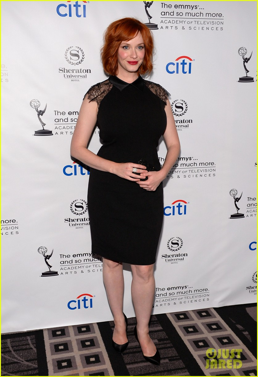 christina hendricks aaron paul performers peer reception 132933923