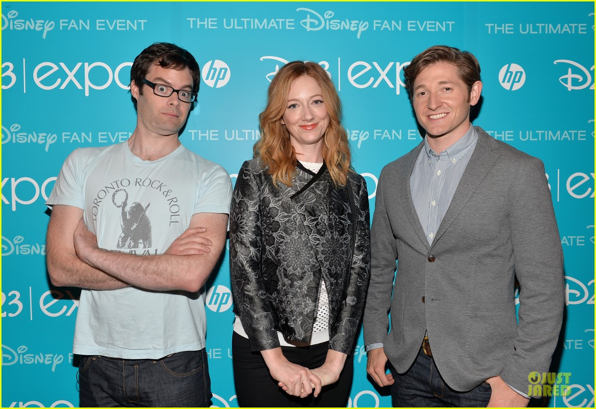 tom hiddletston christina hendricks the pirate fairy at disney d23 expo 252926960