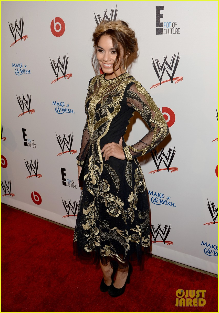 vanessa hudgens wwe superstars for hope event 142931169