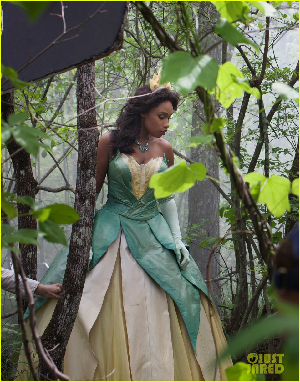 jennifer hudson princess tiana disney dream portrait 092935525