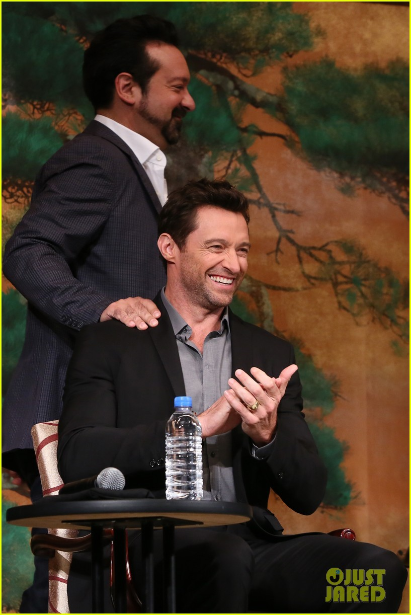hugh jackman wolverine japan press conference 08
