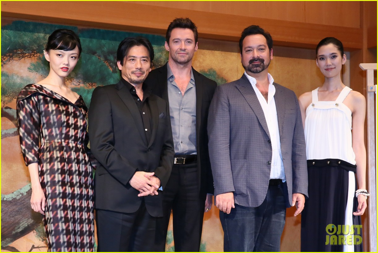 hugh jackman wolverine japan press conference 102939952