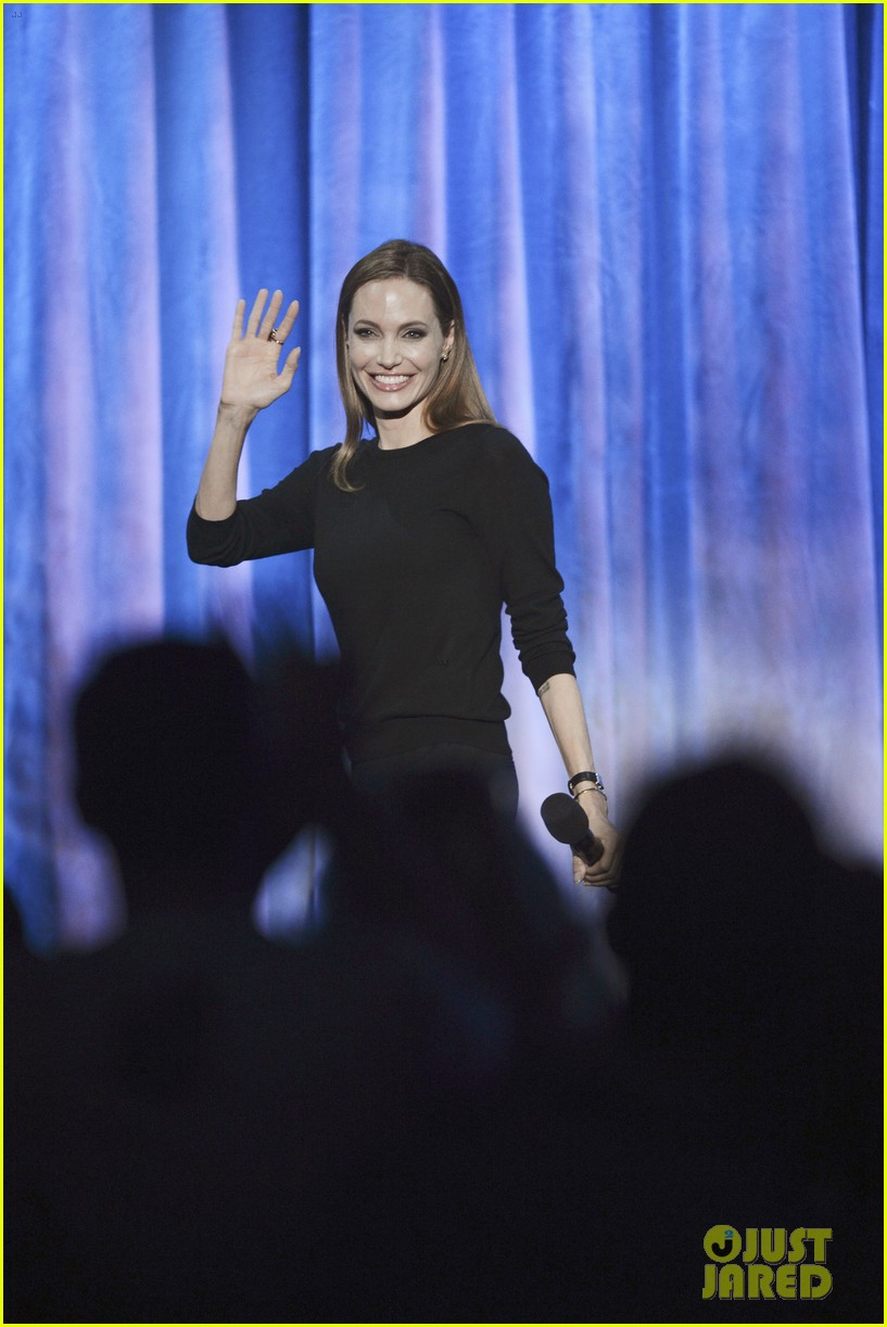 angelina jolie maleficent panel at disney 23 expo 142927294