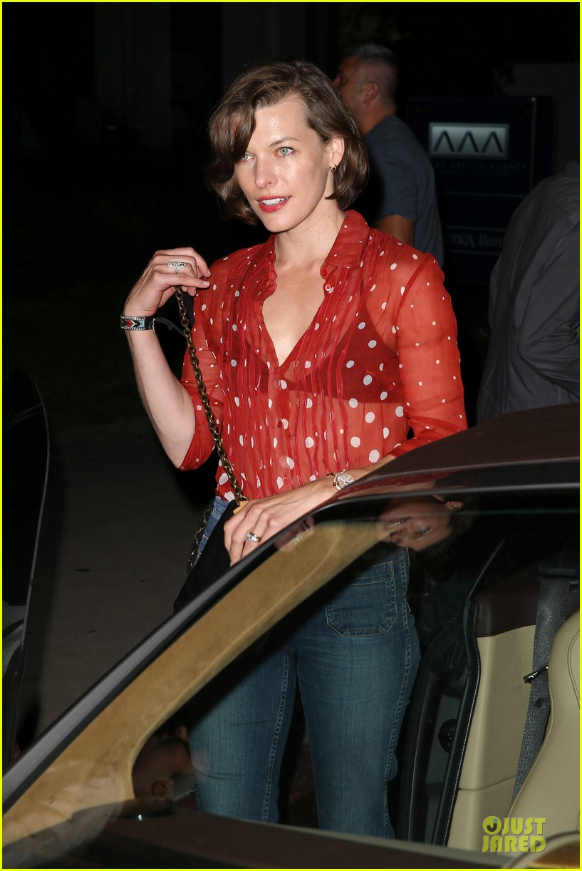 milla jovovich sheer red for paul ws anderson 112922521