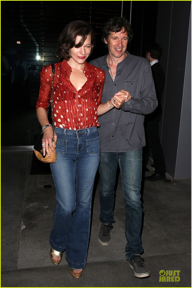 milla jovovich sheer red for paul ws anderson 122922522